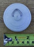 White Self Parking Plug For Basins  - 74000652